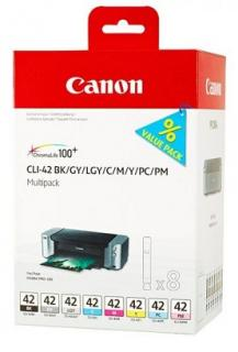 CANON CLI-42BK/GY/LGY/C/M/Y/PC/PM Multipack